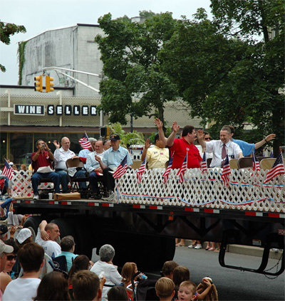 Riders on the Float