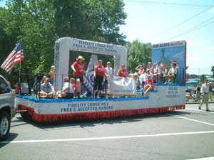 Our float