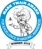 MSA Mark Twain Award Winner - 2012